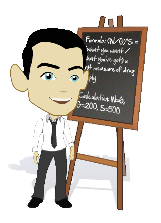 clipart image of a lecturer